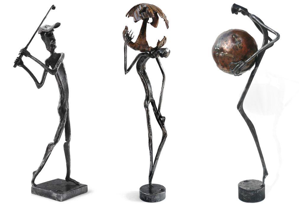 Кованые фигурки из металла своими руками 59