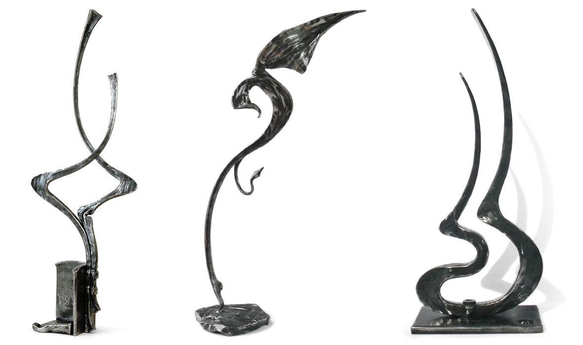 Кованые фигурки из металла своими руками 68