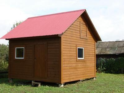 Построить щитовой дом своими руками фото